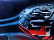 Audi e-tron aerodynamic (front)