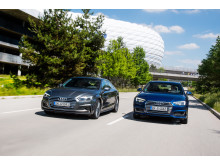A4 Avant och A5 Sportback g-tron