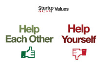 Help others rather than yourself - Startup Grind Values