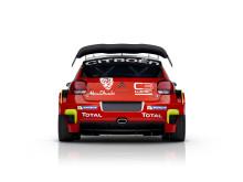Citroën C3 WRC bakifrån