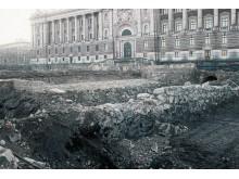 Medeltidsmuseet 30 år, utgrävning Riksgropen