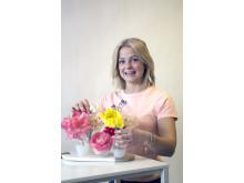Sofie Danielsson - Sveriges representant i florist-VM 2015