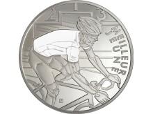 Tour de France - hvit sykkeltrøye