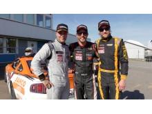 Ahlberg, Graff och Palnér efter Heat 2