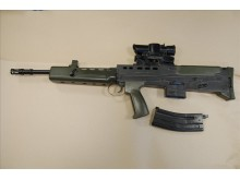 An air weapon handed in as part of the firearm surrender