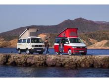 California T3 1988 og California T6 2018