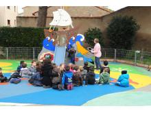 Undervisning på förskola i Frankrike