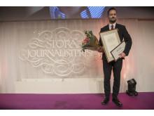 David Baas, vinnare av Årets Röst