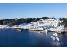 Vinter på Stenungsbaden Yacht Club