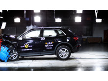 Audi Q5 Frontal Offset Impact test 2017