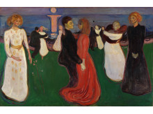 "Edvard Munch, ""Dance of Life"", 1899-1900."