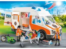 PLAYMOBIL Rettungswagen mit Licht und Sound