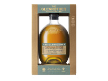 The Glenrothes Peated Cask Reserve packshot with frame