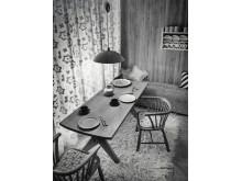Vardagsrummet, 1939. Foto: Erik Holmén, Nordiska museet.