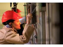 H.K.H Kronprinsessan Victoria i Sysavs avfallskraftvärmeverk