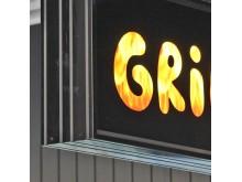 Ljuskylt Grill