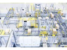 Conveyorsystem til kasser, Schaeffler