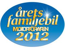 Ford tar hem prestigefyllt pris för andra året i rad - nya Ford B-MAX utsedd till Årets Familjebil 2012