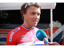 Edvald Boasson Hagen under EM Landevei i Danmark 2017