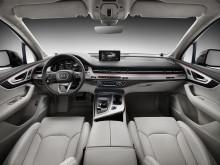 Q7 interior front