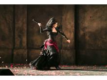 Katarina Giotas i titelrollen som Carmen. Nypremiär 1 november på GöteborgsOperan