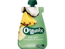 Organix just apple, pineapple  coconut
