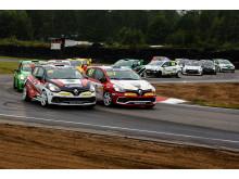 Renault Clio Cup, heat 2 Falkenberg