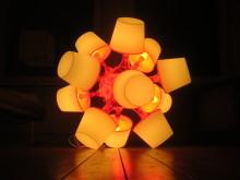 Platonic Suns af Daniel Saakes