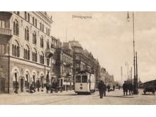 Lyktstolpar omkring 1905.