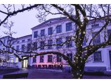 Julstök på Kulturen i Lund – Entrén till Kulturen i Lund