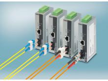 Hurtige mediekonvertere til Ethernet applikationer i realtime
