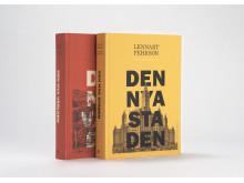 Den nya världen & Den nya staden av Lennart Pehrson, formgivna och illustrerade av Johannes Molin, är Årets vackraste bok