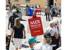 Hjärt-Lungfonden delar hjärtefrågor i Almedalen