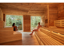 Nordic Sauna at Aqua Sana Sherwood Forest