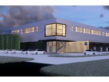 Logistic Contractor utvecklar och bygger för TMJ i Danmark.