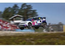 Magda Andersson till start i RallyX-finalen i Strängnäs