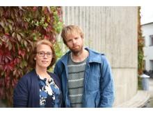 Jan Jämte och Emma Arneback