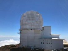 The site of the DKIST Telescope, Haleakala Mountain in Maui, Hawaii