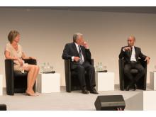 """""""Wir zusammen"""" in Essen: Bundespräsident Joachim Gauck und Dr. Susanne Sollner für burgbad"""