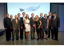 Preisträger und Laudatoren der PEERS-Förderpreise 2014
