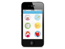 Let's talk, mobil app