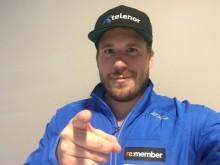 """Kjetil Jansrud oppfordrer alle idrettslag til å bli med i miljødugnaden """"Brukt mobil - nye muligheter""""."""