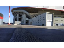 Fibrelite covers installed in and around La Liga stadium