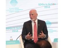 """FN:s särskilda sändebud till Göteborg: """"Vi måste agera nu för att få friska hav"""""""
