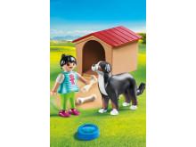 Hofhund mit Hütte von PLAYMOBIL (70136)