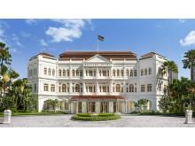 Hotel Facade - Raffles Singapore