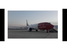 Boeing 737 MAX 8 (LN-BKE) en Shiraz 1