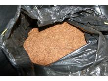 Operation Tessie - Bin bag of tobacco