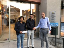 Ingvar Ivarsson välkomnar Euronics Phone Store till Gallerian Storken