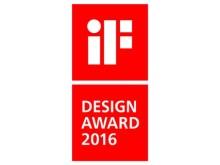 iF Design Award logo stående